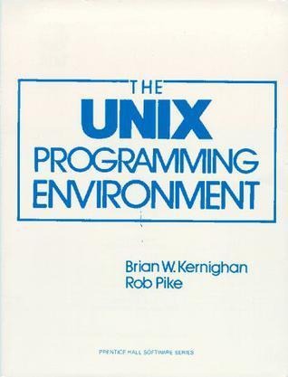 The Unix Programming Environment