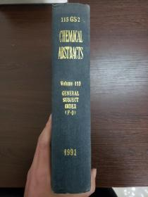 CHEMICAL ABSTRACTS Vol.115 GENERAL SUBJECT INDEX(F-O)
