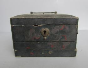 民国漆器名家国光泉记漆器盒