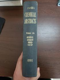 CHEMICAL ABSTRACTS Vol.114 GENERAL SUBJECT INDEX(A-E)
