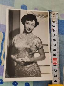民国美女明星旗袍李丽华原照,清晰漂亮