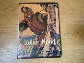 Robin Hood(A Classic Illustrated Edition)    罗宾汉传奇,多插图,罗宾汉的故事有许多版本,这个文字版本诗人查良铮(穆旦)曾挑选出来中译给女儿学英语,大16开精装