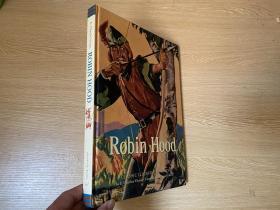 Robin Hood(A Classic Illustrated Edition)    罗宾汉传奇,英文原版书,多插图,罗宾汉的故事有许多版本,这个文字版本诗人查良铮(穆旦)曾挑选出来中译给女儿学英语,大16开精装
