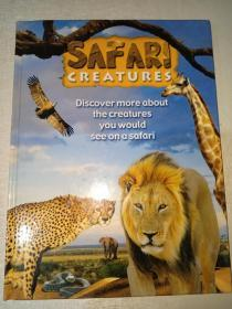 SAFARI CREATURES(英文原版)
