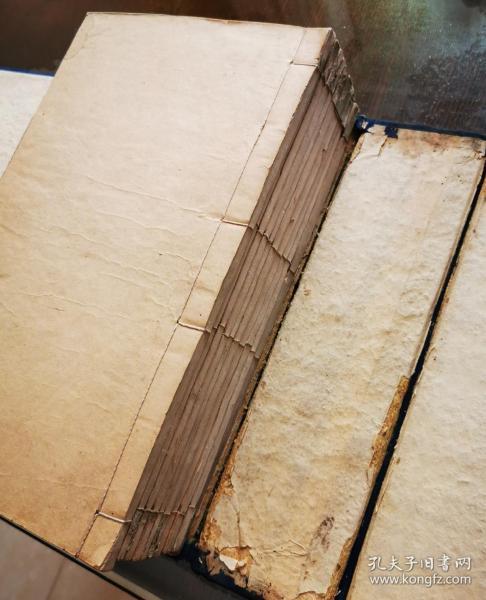 清康熙二十四年(1685)内府刻五色套印本 《古文渊鉴》4函32册全