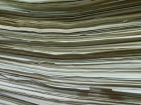 老白纸3180多张(8开)