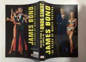 英文原版 James Bond: 50 Years of Movie Posters 詹姆士邦德 007 50周年电影海报精选 画册