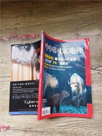 中国国家地理 2008.9 总第575期 动物自拍 荔枝 贺兰山 米苍山/杂志