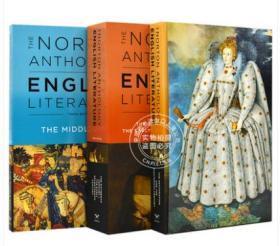 诺顿英国文学套装 新版 英文原版 The Norton Anthology of English Literature (10TH ed.) A B C 文艺评论版