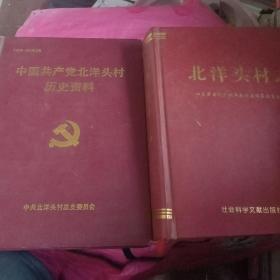 中国共产党北洋头村历史资料、北洋头村志【寿光市台头镇】合售