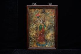 初唐壁画《大士站像》
