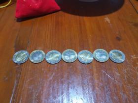 1999年庆祝中华人民共和国香港特别行政区成立纪念币【一套2枚】
