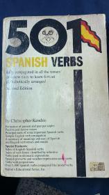 英文原版《501  SPANISH  VERBS》(《501个西班牙语动词》)