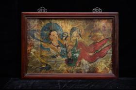 中唐壁画《乐器伎》