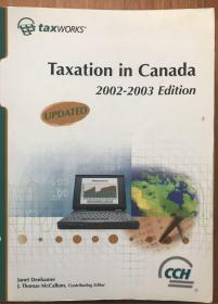 Taxation in Canada (2002-2003)配套笔记书含习题集