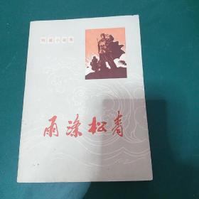 雨涤松青(文革小说)1972年一版一印,确保正版有新华书店售书印,正版珍本品相完好,干净无涂画
