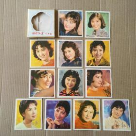 1980年《银坛新秀》年历卡一套(12枚)~带原封套