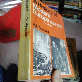 A History of Modern Europe1789—1970