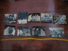 毛主席老照片一组10张,非常罕见的一组毛主席照片