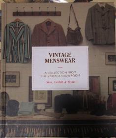 原版现货Vintage Menswear复古男装:复古陈列室的收藏男装设计书