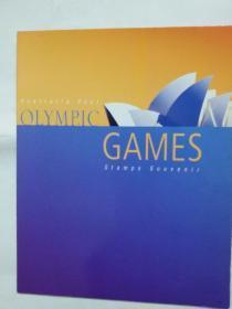 2000年悉尼奥运会纪念邮票册。