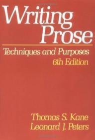 Writing Prose