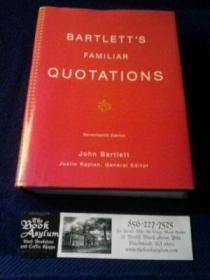Bartletts Familiar Quotations
