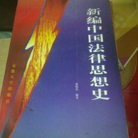 新编中国法律思想史