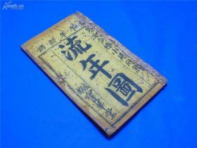 清代出版的民俗刻本《流年图》一册全,收藏民俗书的朋友可以看看!!