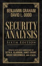 Security Analysis, Sixth Edition