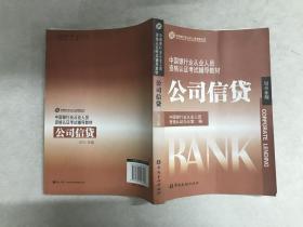 中国银行业丛业人员资格论证考试辅导教材:公司信贷(2010年版)