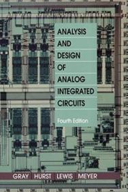Analysis And Design Of Analog Integrated Circuits (4th Edition)