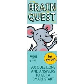 Brain Quest for Threes, revised 4th edition 智力开发系列:3-4岁益智