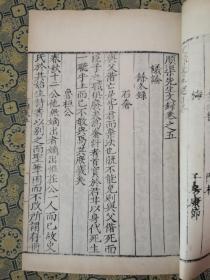 明代白棉纸【顺渠先生诗集】存一厚册55