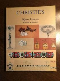 CHRISTIES BIJOUX FRANCAIS 1997