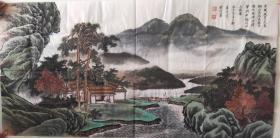 名家焦庆生山水画