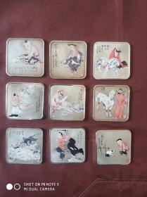 范曾十二生肖系列国画纪念币 999千足纯银