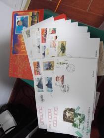 刘邓大军千里挺进大别山五十周年纪念《全十张》