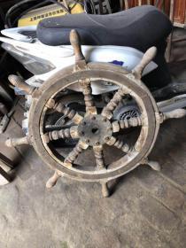 榉木船舵,吉祥平安轮,装饰挂件不错的选择,450一个