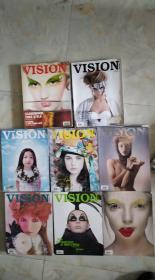青年视觉 Vision 2007年5本,2008年8本,现13本合售。具体期数见图)/LJ