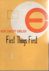 NEW CONCEPT ENGLISH.1First Things First、3Developing Skills、4Fluency in English.3册合售