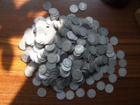 1956年2分硬币500个