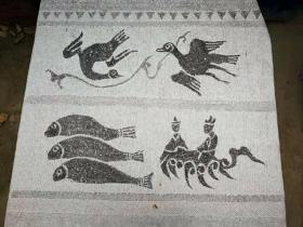 汉代画像石刻艺术之杰作拓片可任选,均为原石原拓,尽显汉风壮美