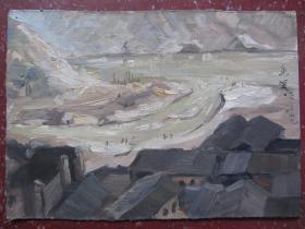 老油画(26.6x19cm)