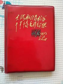文革时期笔记本日记本活页本 内记录曲谱和小提琴学习指法