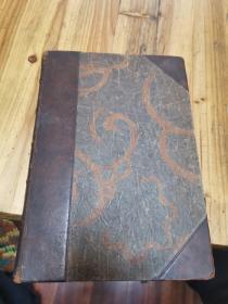 1923年精装本一边金边老外文书(墨西哥用於NTID )