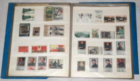 《老邮票约410张》(50年代——2000年代信销票).