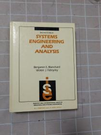 【英文原版】系统工程与分析Systems Engineering And Analysis (prentice-hall International Series In Industrial & Systems Enginee