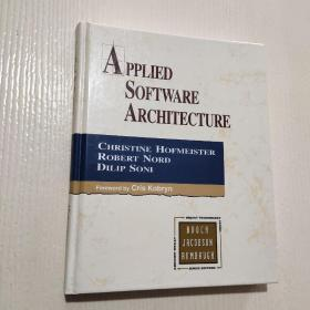 APPLIED SOFTWARE ARCHITECTURE(16开精装)见图