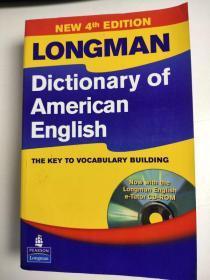 Longman Dictionary of American English 朗曼美国英语词典 英文版 送光盘